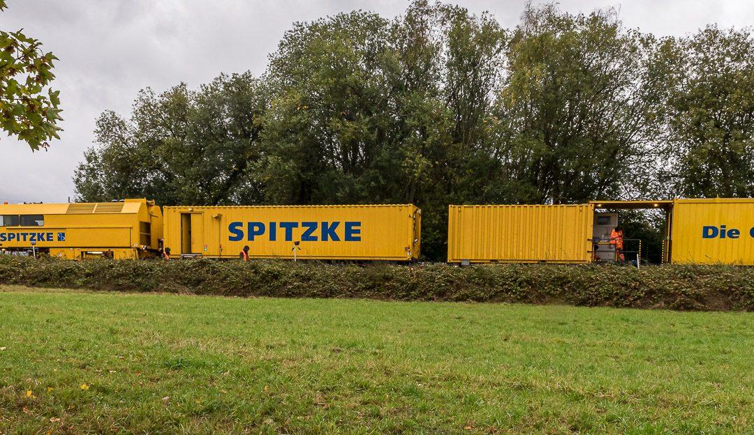 Abschluss der Gleisbauarbeiten
