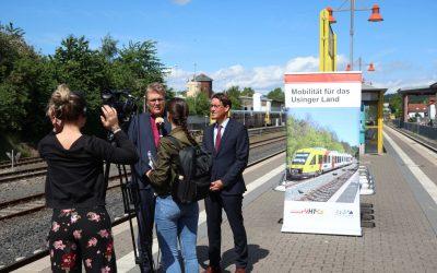Pressegespräch in Usingen