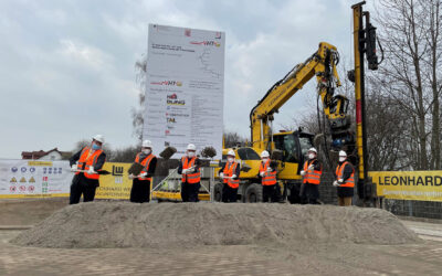 Startschuss für den Neubau des elektronischen Stellwerks in Usingen